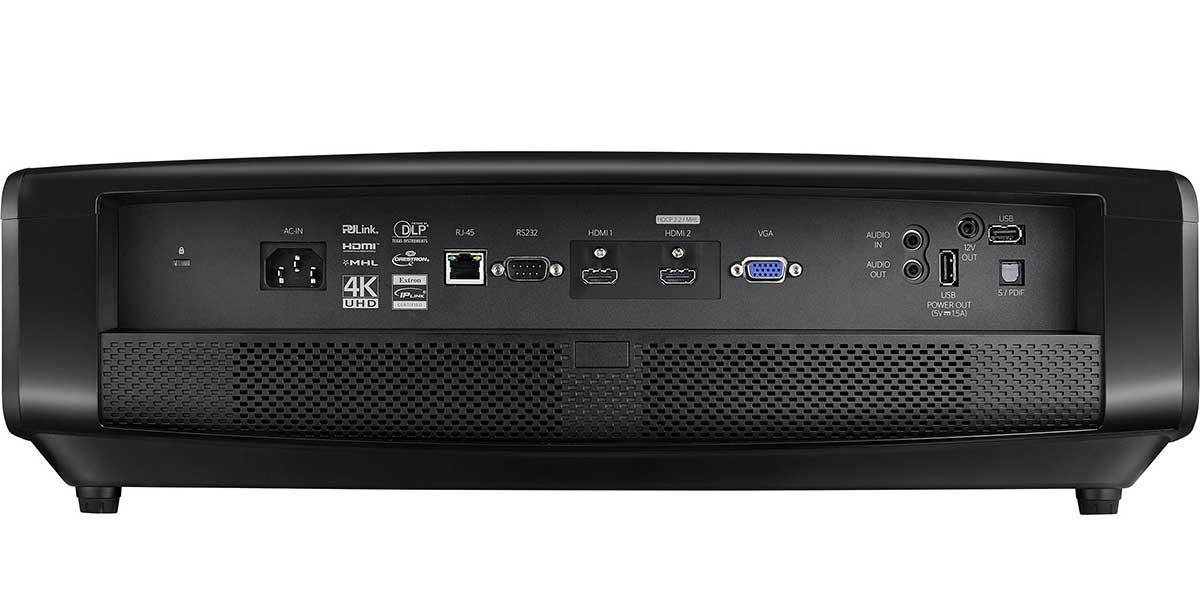Do projectors have audio output