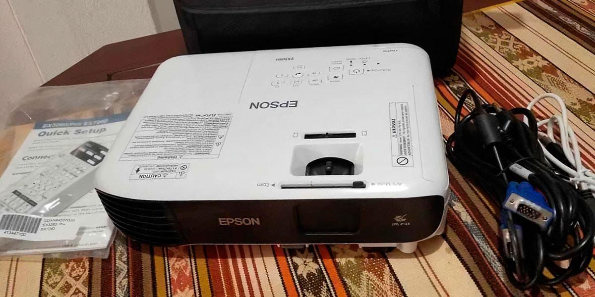Epson EX3260 on a table