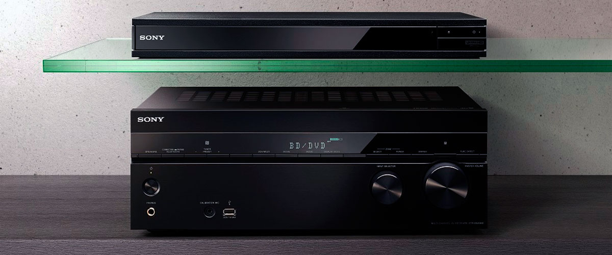 Sony receiver for home