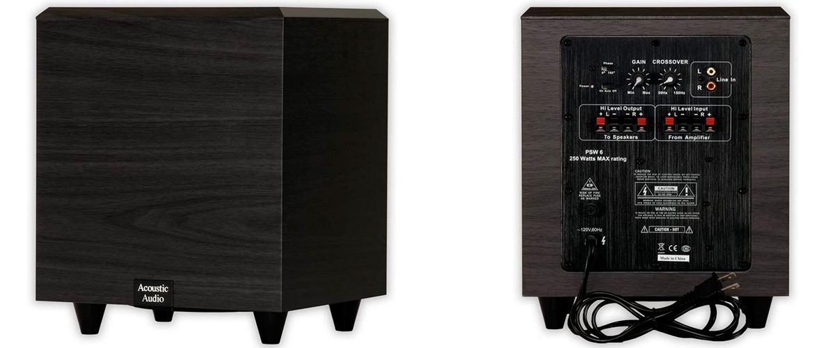 Acoustic Audio PSW-6
