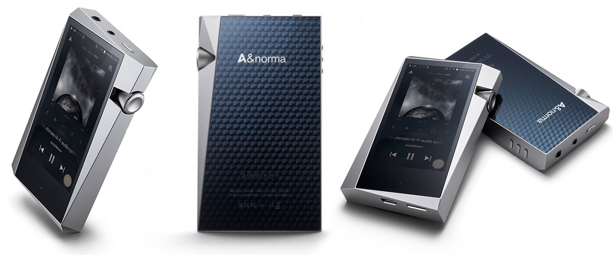 Astell&Kern A&Norma SR25 front view
