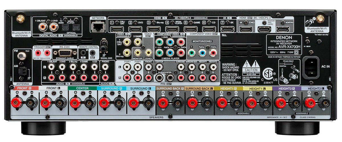 Denon AVR-X4700H