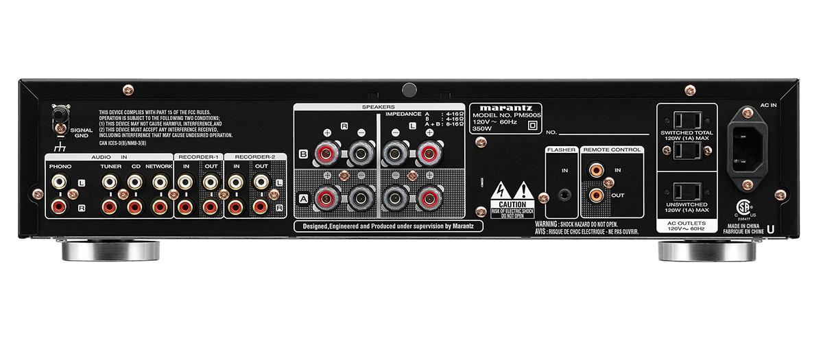 Marantz PM5005 inputs