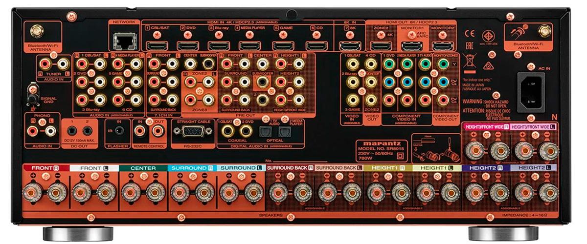 marantz-sr8015 inputs