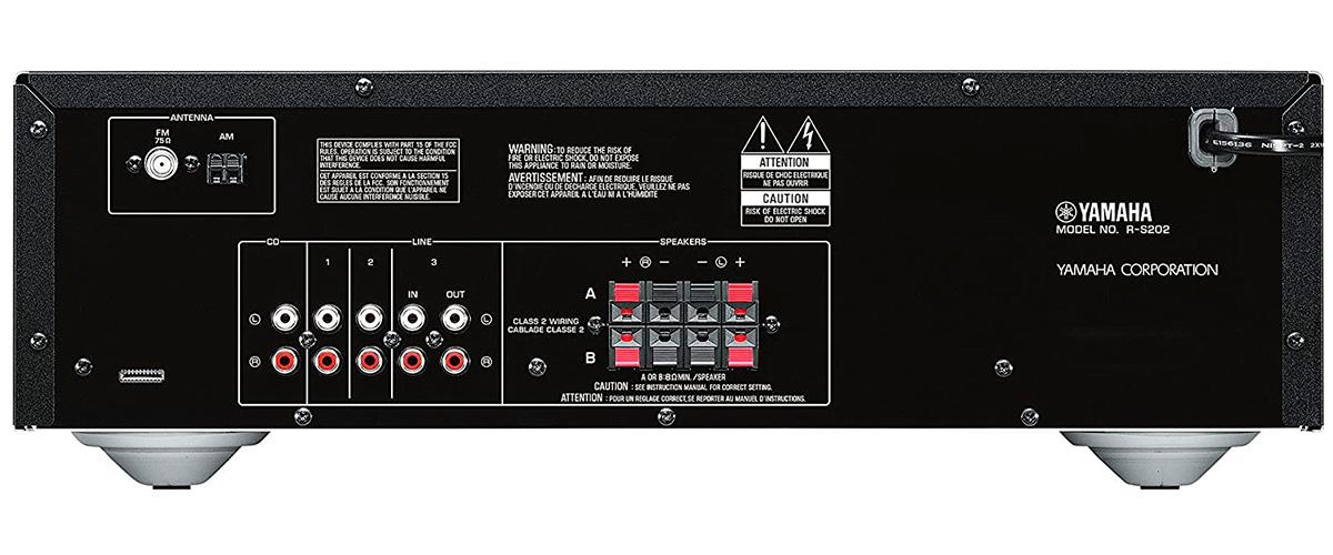 Yamaha R-S202 inputs