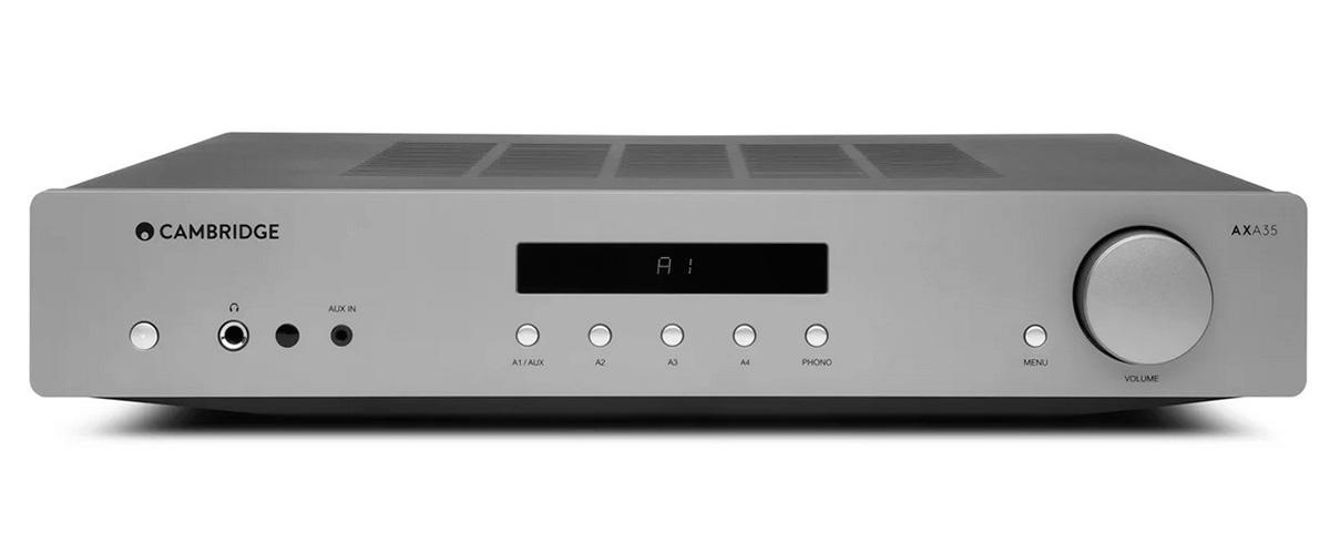 Cambridge Audio AXA35 front view