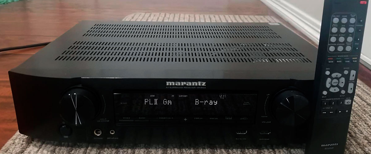 compact stereo receiver