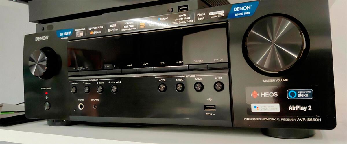 Denon AVR-S650H photo