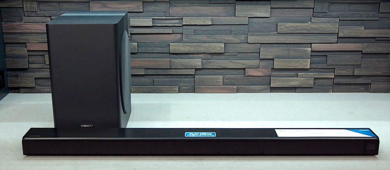 Connecting Samsung soundbar to subwoofer