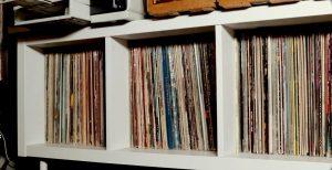 Storing the vinyl