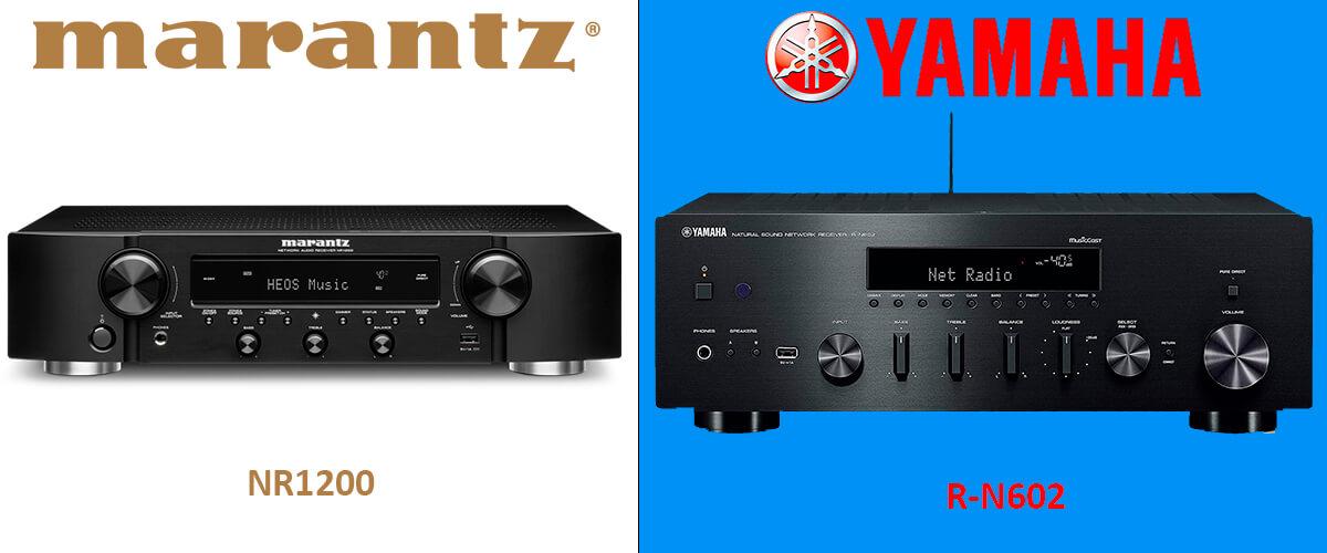 Marantz NR1200 vs Yamaha R-N602 comparison