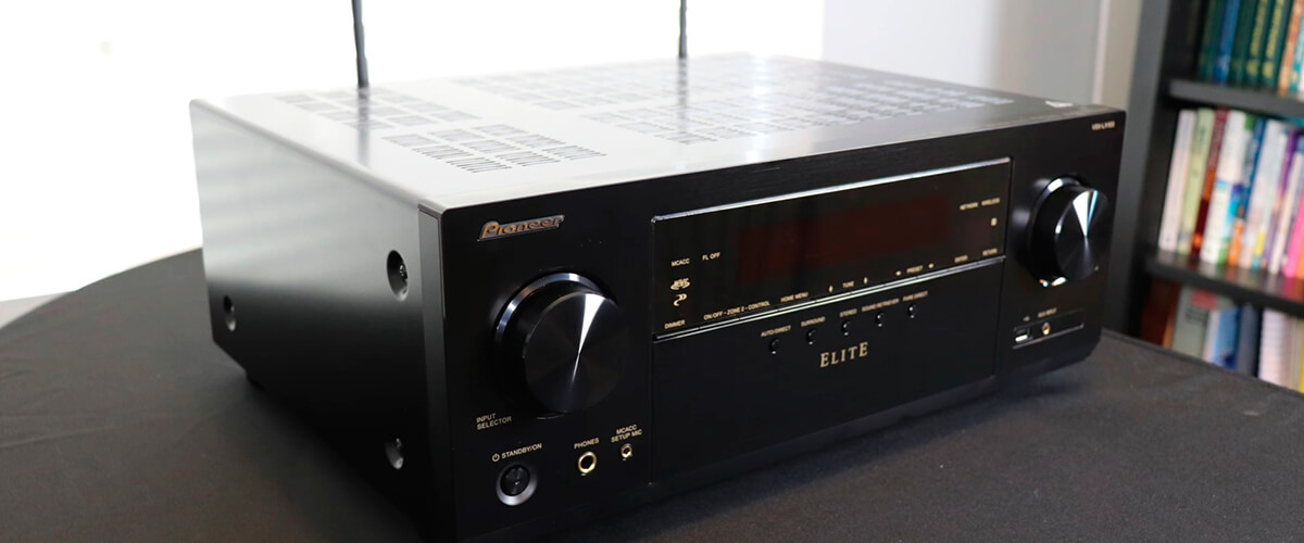 Pioneer Elite VSX-LX104 front view