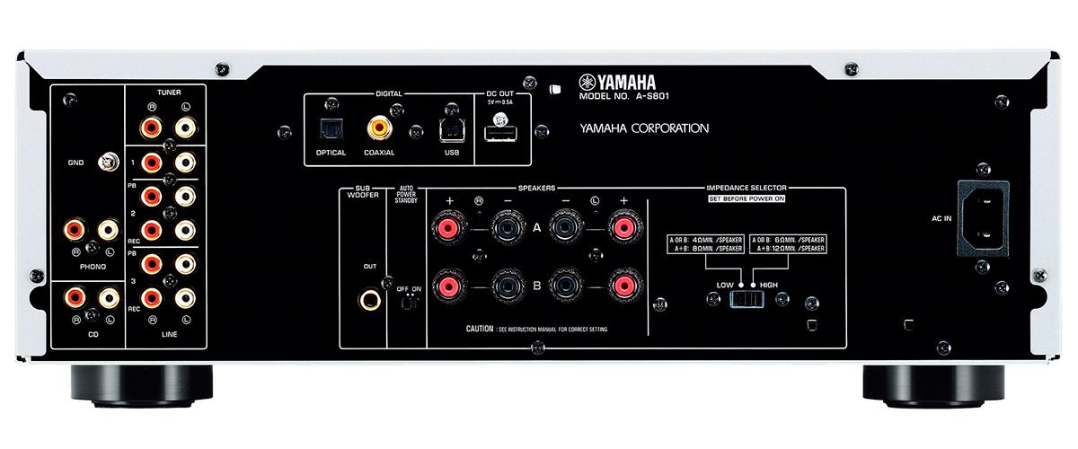 Yamaha A-S701 inputs