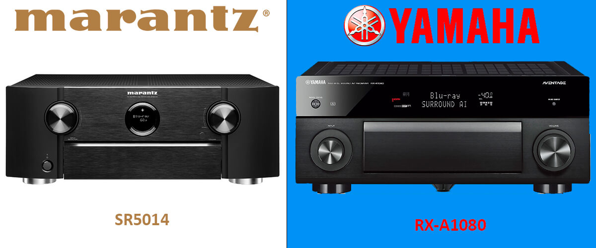 Yamaha RX-A1080 vs Marantz SR5014 comparison
